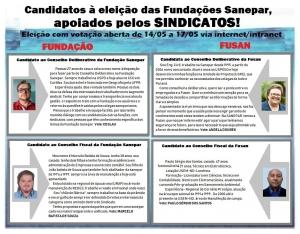 WHATSAPP eleição fundação e fusan